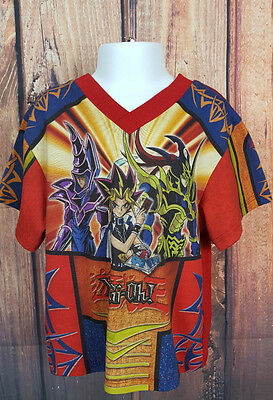 Yu Gi Oh Vintage T-Shirt Youth Boys Size 3 90's Original