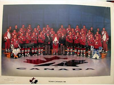 1996 Team Canada World Cup of Hockey Poster