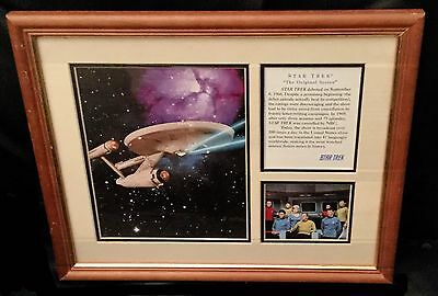 Star Trek Original Series Collectors Edition Print with COA (framed)