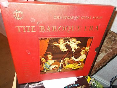 The Story Of Great Music The Baroque Era 4Lp Box Set Vgc
