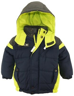 Big Chill Toddler Boys' Expedition Puffer Jacket Winter Coat with Hood
