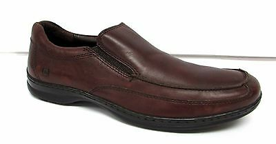 Born Mens 10 M leather Slip On Loafers shoes  comfort