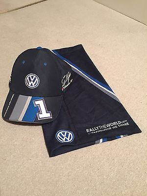 VW Motorsport Cap And Scarf