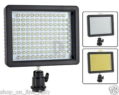 W126 Faro Faretto Illuminatore 126 Led Per Fotografia Led Light For Photography