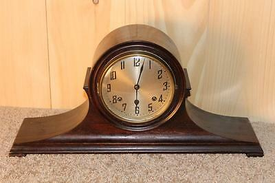 Antique New Haven 8 Day Gonging Mantle Clock ~In Good Running Order~