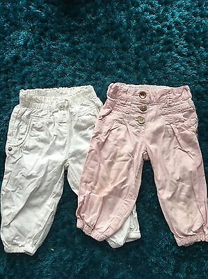 Girls 3/4 Trousers Next 2-3