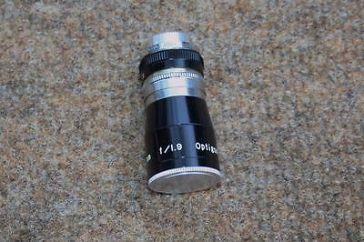 OPTIKON 6.5mm f/1.9 Optigon VINTAGE CAMERA LENS 8mm