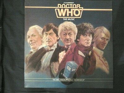 Doctor Who The Music LP soundtrack(radiophonic workshop)