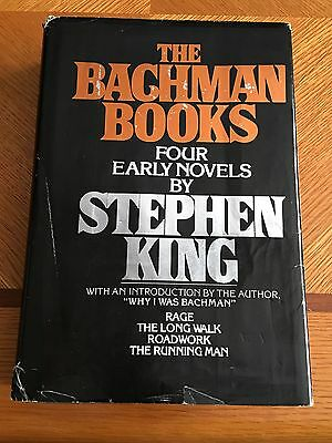 Stephen King The Bachman Books First Edition 1st Print Hardcover