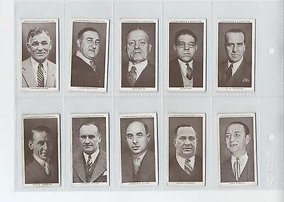 Boxing Personalities Cigarette cards by Churchman set of 50