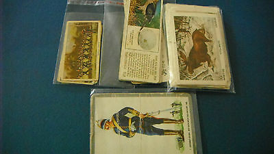 MIXED LOT of TRADING CARDS x 34