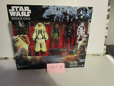 Star Wars Rogue One Exclusive 4 Pack Action Figure Set BNIB - (Lot 3)