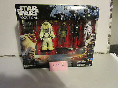 Star Wars Rogue One Exclusive 4 Pack Action Figure Set BNIB - (Lot 2)