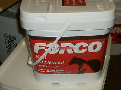 FORCO Equine Digestive Product REFILL BOX 5 lb PELLETED (this is a new option!)