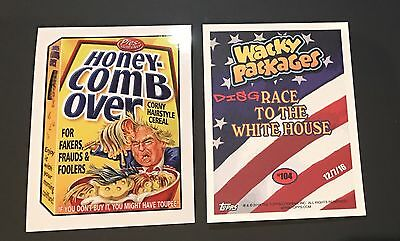 Garbage Pail Kids 2016 Honey Comb Over #104 Disgrace White House Donald Trump
