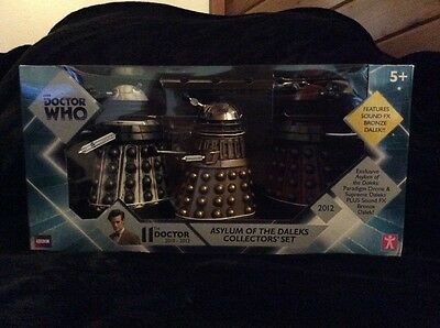 Doctor Who Asylum of the Daleks collectors set