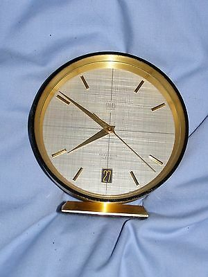 vintage gruen geneve clock precision electric