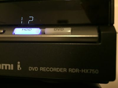 SONY RDR-HX750 DVR DVD RECORDER 160GB HDD - (Functions The Same As RDR-HX780)
