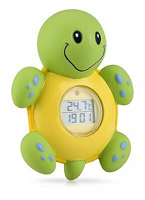 Nuby Turtle Bathtime Clock and Thermometer