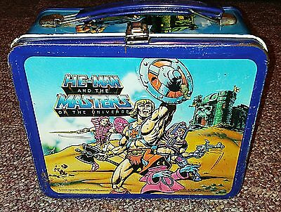 Vintage Aladin HE MAN Metal Lunch Box, No thermos.
