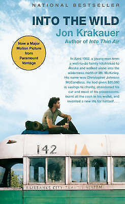 Into the Wild by Jon Krakauer (Paperback, 2007)