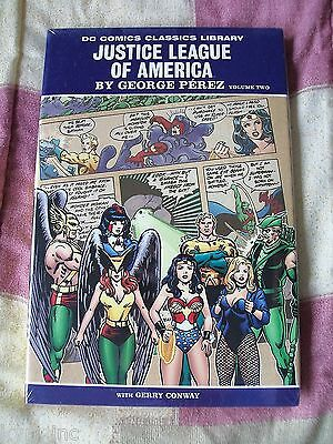 Justice League Of America Vol 2 Hardcover Sealed Wonder Woman George Perez Dc