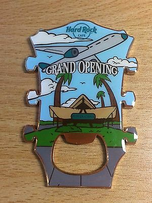 Hard Rock Cafe Punta Cana AIRPORT Grand Opening Headstock Magnet Bottle Opener