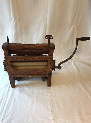 Antique American Wringer CO. Horseshoe Brand Clothes Wringer,Universal,PAT. 1888