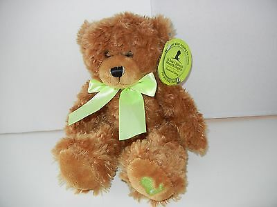"""NEW St. Jude First and Main 12"""" Teddy Bear Scraggles  NWT f st. jude bear"""