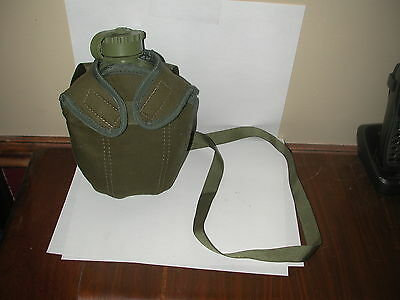 Israeli Army Military 1Liter Green canteen W/Cover