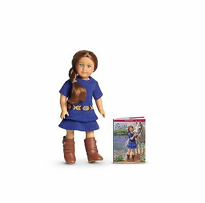 New American Girl Saige Sage Mini Doll Book Meet Outfit Boots Pleasant Company