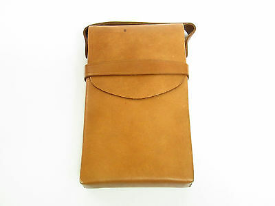 Vintage Leather Case For Polaroid Sx-70 Instant Film Folding Land Camera