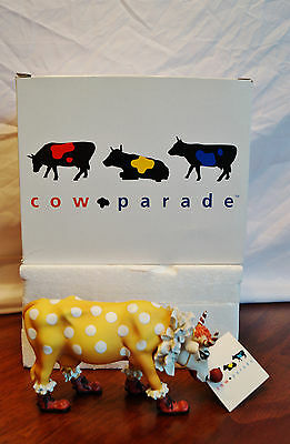Cow Parade 2000 YOU CAN'T HAVE PARADE CLOWN FIGURINE New in Box Retired