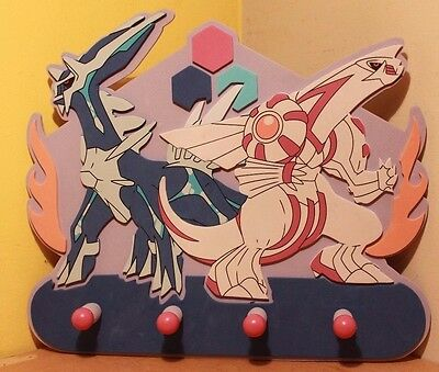 Pokemon Coat Hanger Kids Bedroom Wall Door Rack Panel Decoration TV Show Go