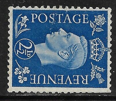 GREAT BRITAIN 1937 KGVI  Watermark Sideways Mint No Gum.