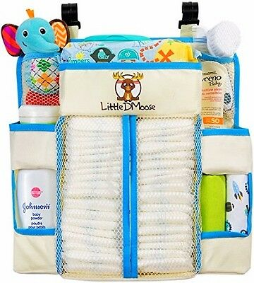 Little DMoose Diaper Caddy and Nursery Organizer for Babys Bedroom Essentials