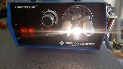 Narco Scientific Luminator Fiber Optic Light Source as pictured working