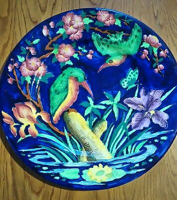 Maling Kingfisher Blue Plate Charger