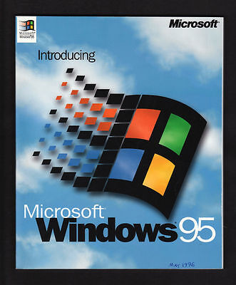 Introducing Microsoft Windows 95 Operating Manual Document Number W158430-0595