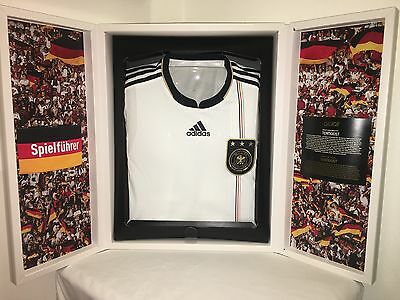ADIDAS TECHFIT SE Limited Edition Germany 2010 S Africa World Cup Soccer Jersey