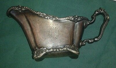 Reed & Barton Silver Soldered 026-H 2 Oz Hotel Touvaine Boston Footed Gravy Boat