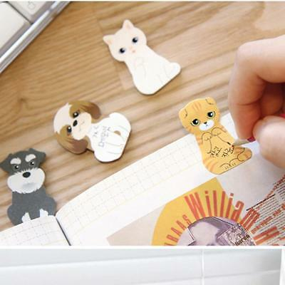 2pcs DIY Kitty Tab House It Bookmark Post It Sticker Memo Sticky Notes