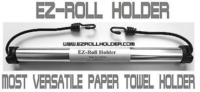 EZ-Roll Paper Towel Holder for campers, campsites, camps, backpacking, outdoors