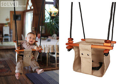 Baby & Toddler Swing Beige CAN BE USED FROM 6 MONTHS OLD TO 6 YEARS OLD