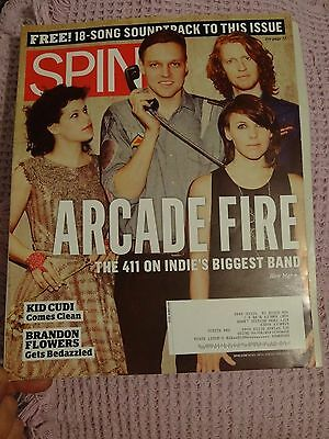 Arcade Fire - Spin Magazine October 2010
