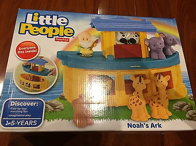 Fisher Price Little People Noah's ark-BNIB (hard To Find)
