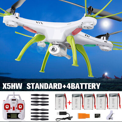 Altitude Hold Syma X5HW-1 RC Drones Quadcopter FPV W/ Wifi Camera 2.4G 4CH 6Axis