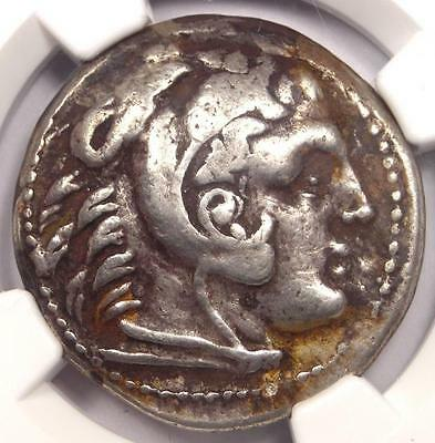 Alexander the Great III AR Tetradrachm 336-323 BC - Certified NGC Very Fine!