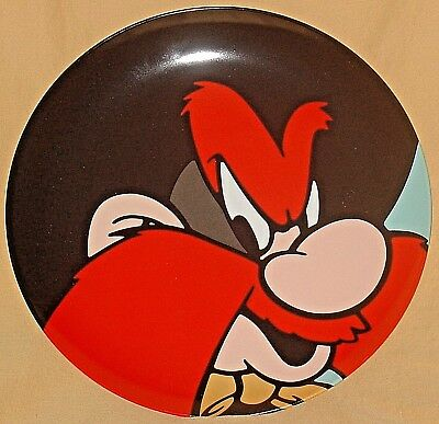 Very Rare! 1991 Yosemite Sam Warner Brothers Looney Tunes Limited Edition Plate