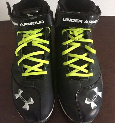 Under Armour Mens Size: 11 Baseball Football Soccer Cleats Shoes Mid Top
